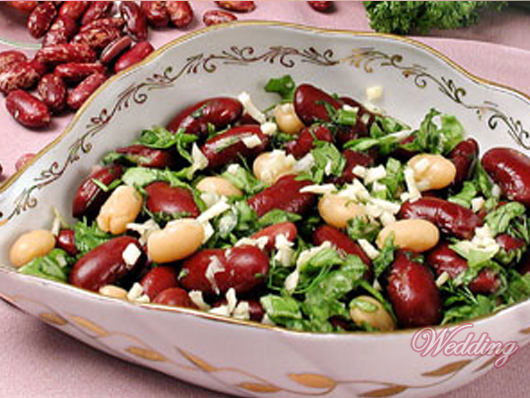 салат из фасоли с фото