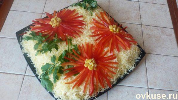 Как украсить салаты на день рождения простые и вкусные рецепты