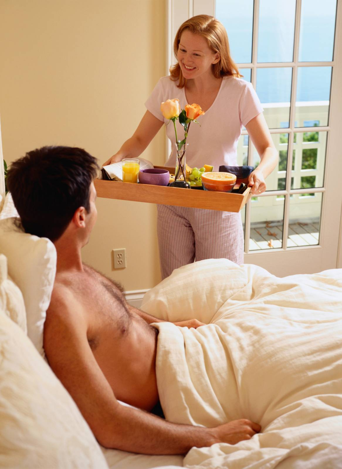 Жена радует любимого мужа прекрасной позой 69 95