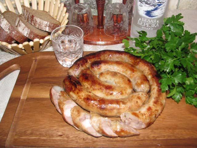 Как в делать украинскую колбасу в домашних условиях пошаговый рецепт