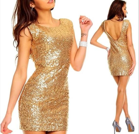 Купить Золотое Платье На Новый Год
