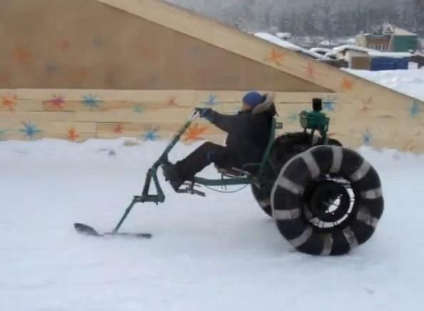 Снегоход своими руками из мотоблока 7