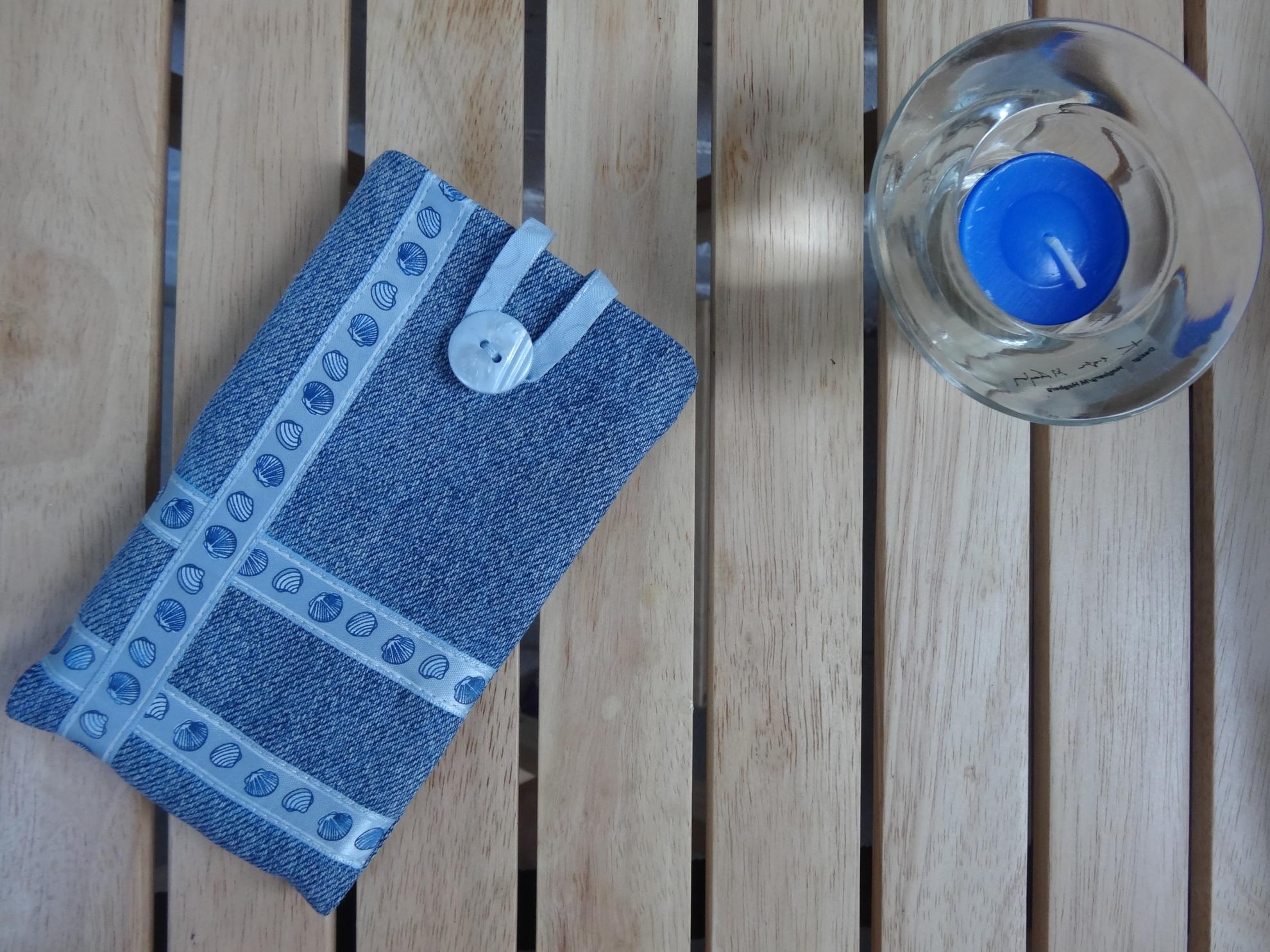 Чехол из джинсы для телефона своими руками фото