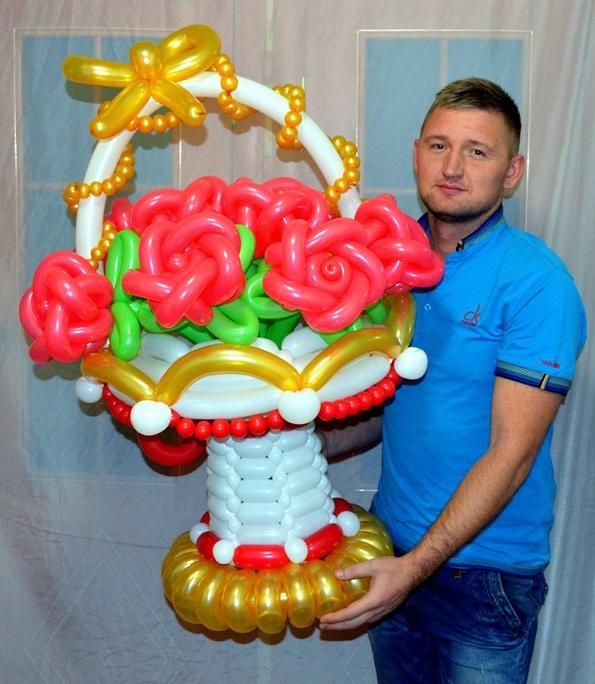 Поделки из шаров на день рождения своими руками