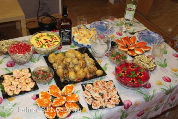 Горячее для новогоднего стола рецепт