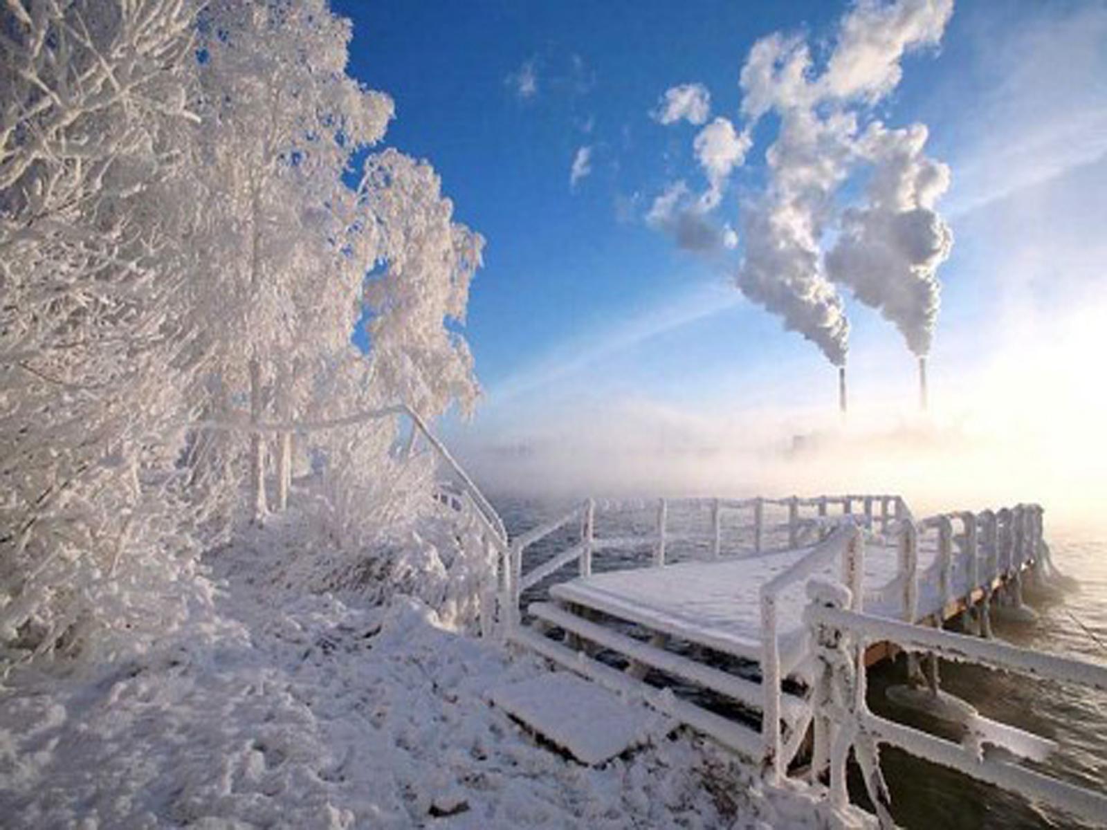 Зимний пейзаж сургута фото 3