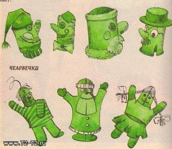 Как сделать перчатку для детей