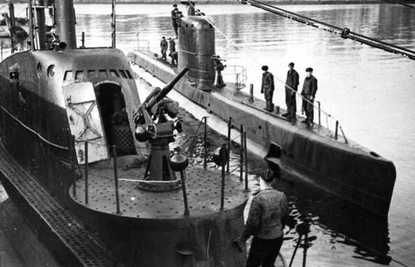 дизельные подводные лодки второй мировой