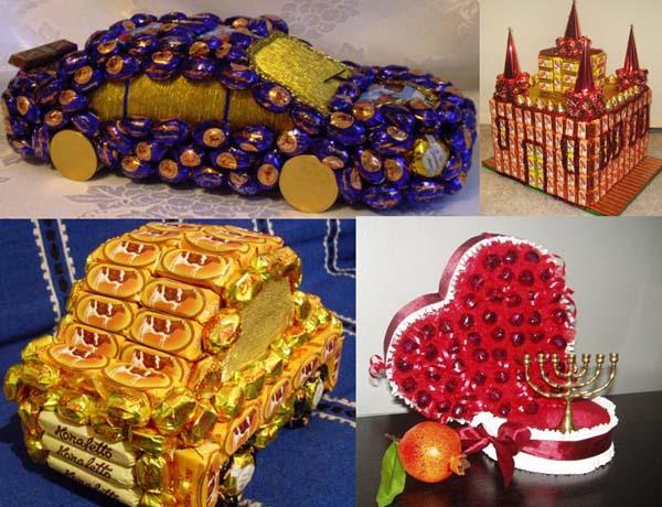 Идеи из конфет