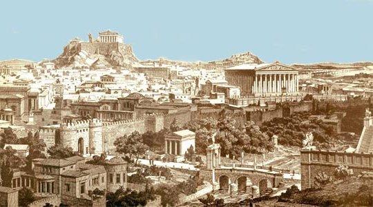 афины как живут обычные люди городе фото