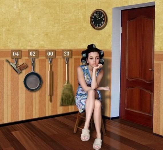 Фото как жена ждет мужа
