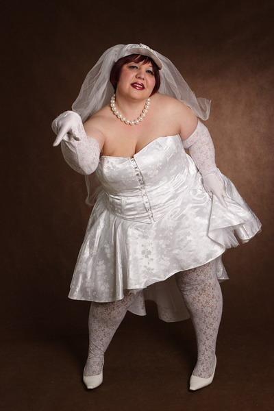 Свадебные платья для жирных