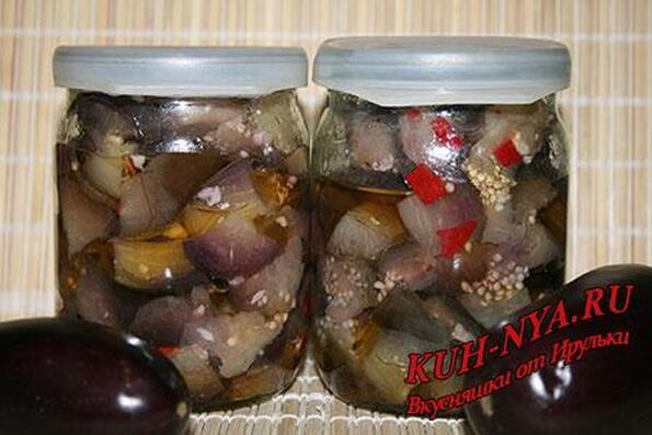 Маринованные баклажанов на зиму рецепты