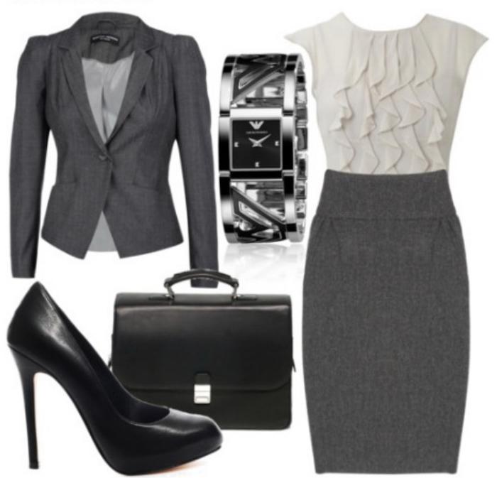 Офисный стиль для девушек 2015