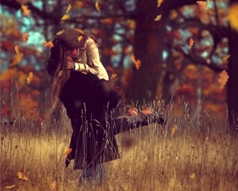 картинки осень влюблённые пары