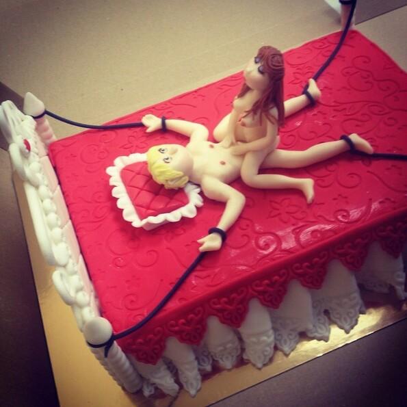 Эротические торты для женщин фото
