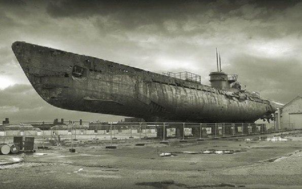 сохранившееся немецкие подводные лодки