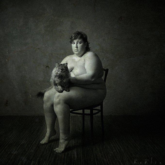 бабушки фото ню