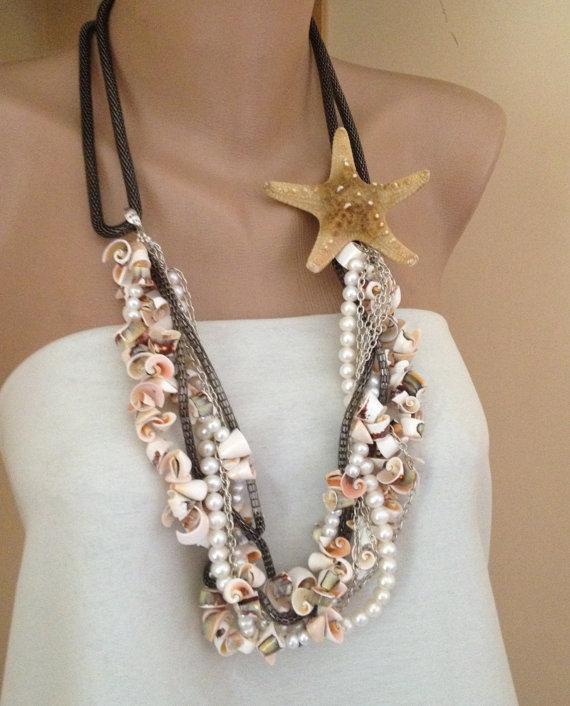 Ожерелье своими руками из ракушек 324