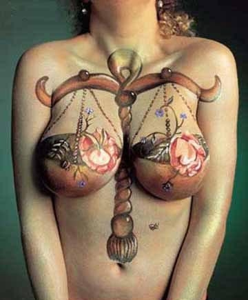 Обозначение тату на груди