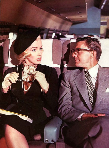 летят блондинка и адвокат в самолете трусики