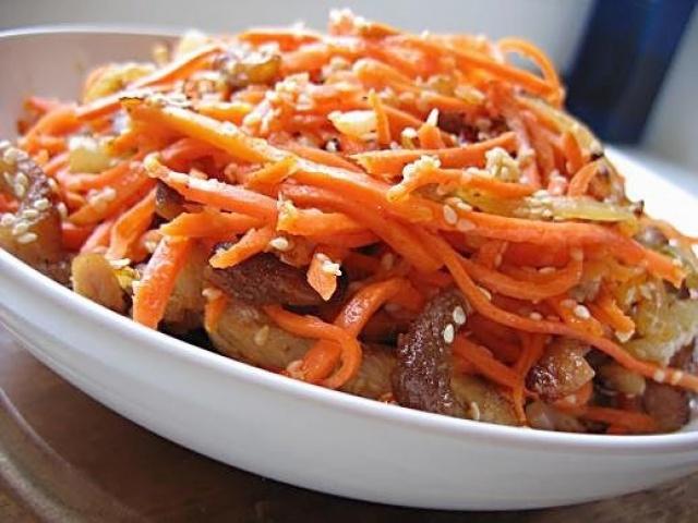 Как сделать морковь по корейский