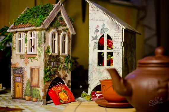 Фото чайного домика своими руками