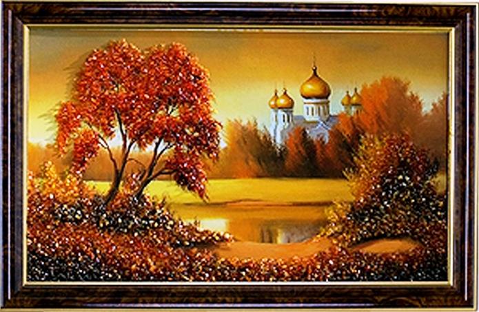 Картины из янтаря своими руками фото