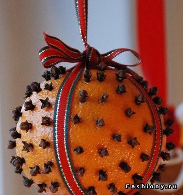 Поделки из апельсин своими руками