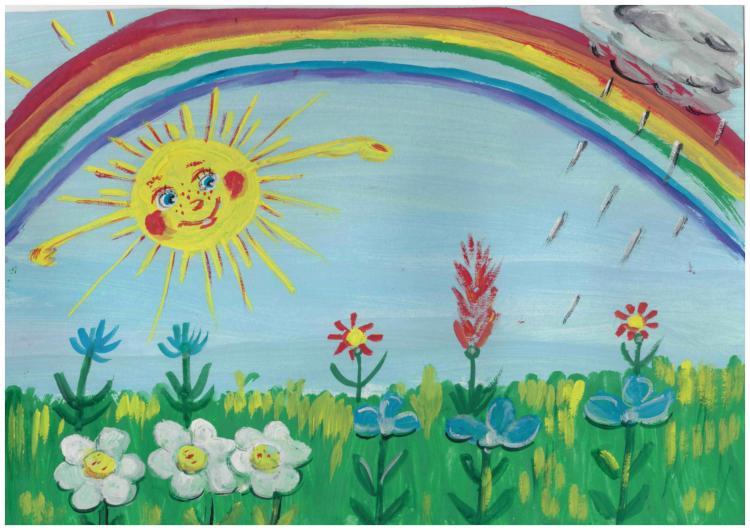 Картинки для детей про лето рисовать