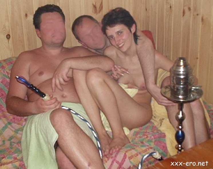 В сауне с женой и подругой фото, как трахаться на русском