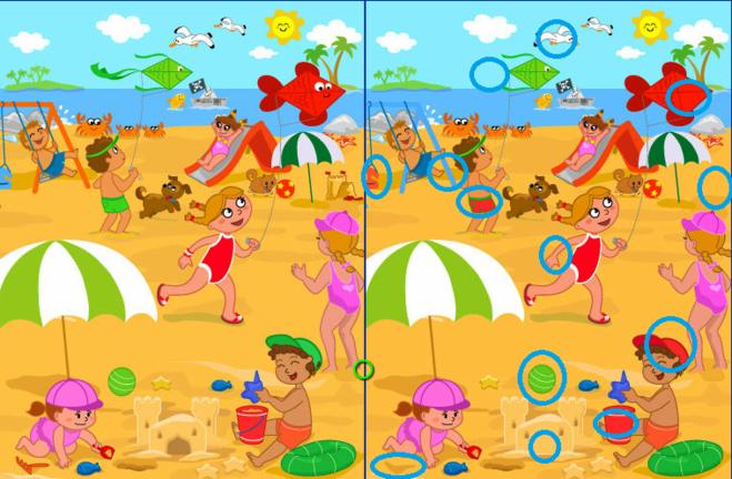 фотографий вао найди отличия на двух картинках бассейн находится победы карте