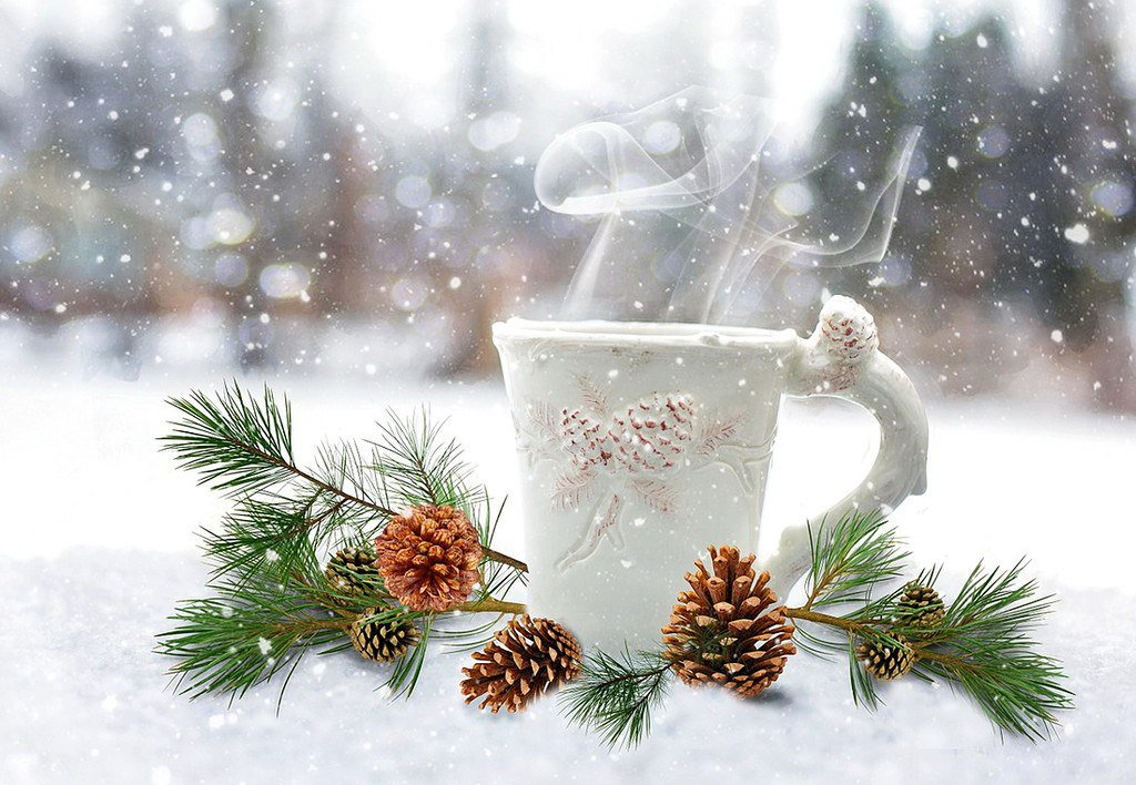 зимние картинки фото с добрым утром том