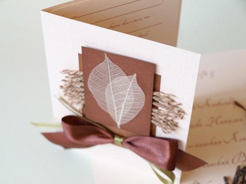 Скелетированные листья открытки, поздравления