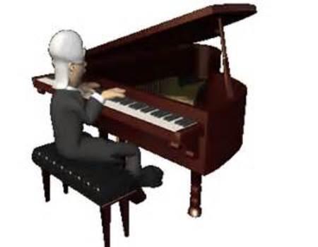 Наврузу, картинки анимации с пианино
