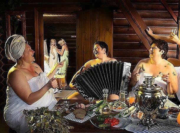 Смешные картинки баня шашлык