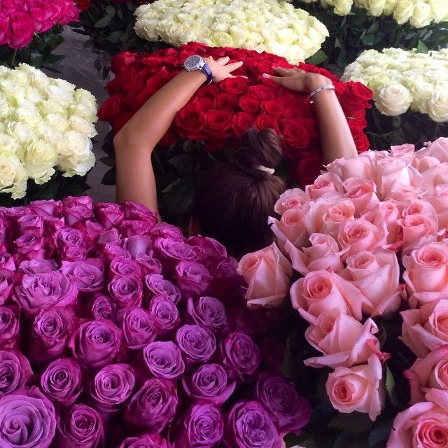 Что ответить на фото с цветами