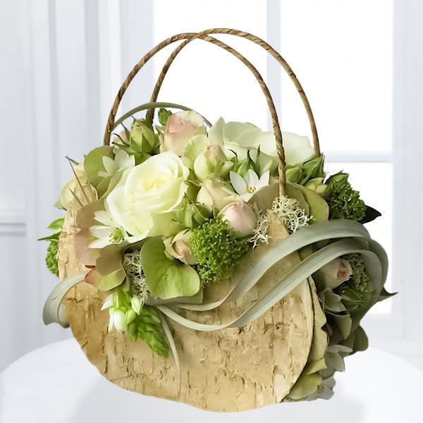 интересное букеты цветов фото в декоративных сумках парочка решила