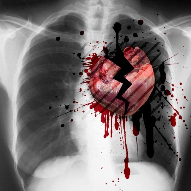 Картинка раздавленное сердце