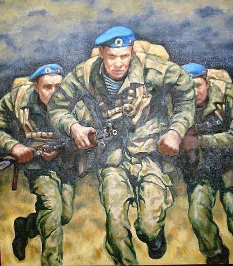 Картинка для детей десантники