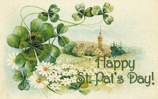 Для, открытки с днем день святого патрика