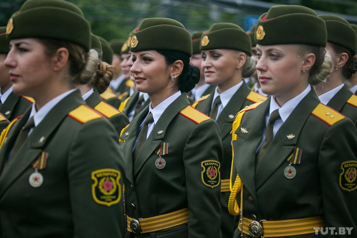 Девушки в армии беларусь